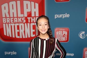 Aubrey Anderson-Emmons 'Ralph Breaks The Internet' World Premiere