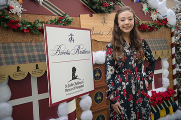 Aubrey Anderson-Emmons Brooks Brothers Hosts Annual Holiday Celebration In Los Angeles To Benefit St. Jude - Red Carpet