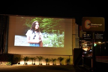 """Aubrey Plaza Arena Cinelounge Sunset Opens Drive-In Movie Theatre In The Heart Of Hollywood With Public Screening Of """"Black Bear"""""""