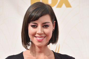 Aubrey Plaza 67th Annual Emmy Awards - Red Carpet
