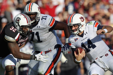 Barrett Trotter Auburn v South Carolina
