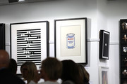 The Banksy screen prints are pictured on display at the International Art Centre on June 30, 2020 in Auckland, New Zealand. Three works by the anonymous street artist Banksy are being auctioned in Auckland. The auction is a rare opportunity for art collectors, with only one other Banksy piece thought to have been offered for sale in New Zealand before. The numbered screen prints of Golf Sale, Weston Super Mare and Soup Can are being sold by a private New Zealand collector who is selling them locally due to COVID-19 and the difficulty travel restrictions would pose on selling the artworks overseas. Banky's Golf Sale print fetched $45,000, his Super Mare print earned $41,000 and the artist's Soup Can print was sold for $52,000.