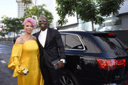 Rebecca King-Crews and Terry Crews arrive at Audi Celebrates the 71st Creative Arts Emmy Awards at the Microsoft Theater on September 14, 2019 in Los Angeles, California.