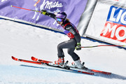 Tessa Worley of France celebrates during the Audi FIS Alpine Ski World Cup Finals Women's Giant Slalom and Men's Slalom on March 19, 2017 in Aspen, Colorado