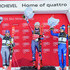 Manuela Moelgg Tessa Worley Photos - Tessa Worley of France takes 2nd place, Mikaela Shiffrin of USA takes 1st place, Manuela Moelgg of Italy takes 3rd place during the Audi FIS Alpine Ski World Cup Women's Giant Slalom on December 19, 2017 in Courchevel, France. - Audi FIS Alpine Ski World Cup - Women's Giant Slalom