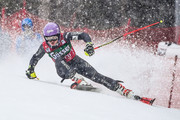 Tessa Worley of France takes 2nd place during the Audi FIS Alpine Ski World Cup Women's Giant Slalom on December 28, 2016 in Semmering, Austria