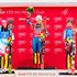 Frida Hansdotter Mikaela Shiffrin Photos - Wendy Holdener of Switzerland takes 2nd place, Mikaela Shiffrin of USA takes 1st place, Frida Hansdotter of Sweden takes 3rd place during the Audi FIS Alpine Ski World Cup Women's Slalom on December 28, 2017 in Lienz, Austria. - Frida Hansdotter Mikaela Shiffrin Photos - 3 of 68