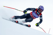 Tessa Worley of France competes during the Audi FIS Alpine Ski World Cup Women's Giant Slalom on December 20, 2016 in Courchevel, France