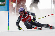 Tessa Worley of France competes during the Audi FIS Alpine Ski World Cup Women's Giant Slalom on December 27, 2016 in Semmering, Austria