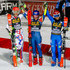 Irene Curtoni Petra Vlhova Photos - Petra Vlhova of Slovakia takes 2nd place, Mikaela Shiffrin of USA takes 1st place, Irene Curtoni of Italy takes 3rd place during the Audi FIS Alpine Ski World Cup Women's Parallel Slalom on December 20, 2017 in Courchevel, France. - Irene Curtoni Petra Vlhova Photos - 3 of 3