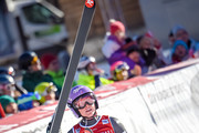 Tessa Worley of France competes during the Audi FIS Alpine Ski World Cup Women's Super-G on December 18, 2016 in Val-d'Isere, France