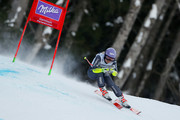 Tessa Worley of France competes during the Audi FIS Alpine Ski World Cup Women's Super-G on January 22, 2017 in Garmisch-Partenkirchen, Germany
