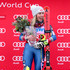 Mikaela Shiffrin Photos - Mikaela Shiffrin #5 of the United States celebrates on the medals podium after winning the Slalom competition during the Audi FIS Ski World Cup - Killington Cup on November 26, 2017 in Killington, Vermont. - Mikaela Shiffrin Photos - 689 of 2750