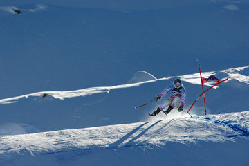 Linsey Vonn Audi FIS World Cup - Women's Downhill Training