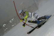 (FRANCE OUT) Susanne Riesch of Germany during the Audi FIS Alpine Ski World Cup Women's Slalom on January 4, 2011 in Zagreb, Croatia.