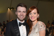 Actors Seth Gabel (L) and Ahna O'Reilly attend The Art of Elysium's 6th Annual HEAVEN Gala presented by Audi at 2nd Street Tunnel on January 12, 2013 in Los Angeles, California.