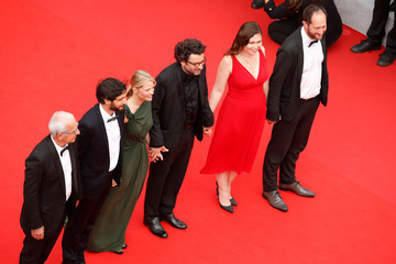 Audrey Abiven Romain Cogitore 'Invisible Demons' Red Carpet - The 74th Annual Cannes Film Festival