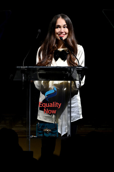 Equality Now Hosts Annual Make Equality Reality Gala - Inside [talent show,performance,glasses,event,eyewear,audrey gelman,stage,new york city,equality now,equality now hosts annual make equality reality gala]
