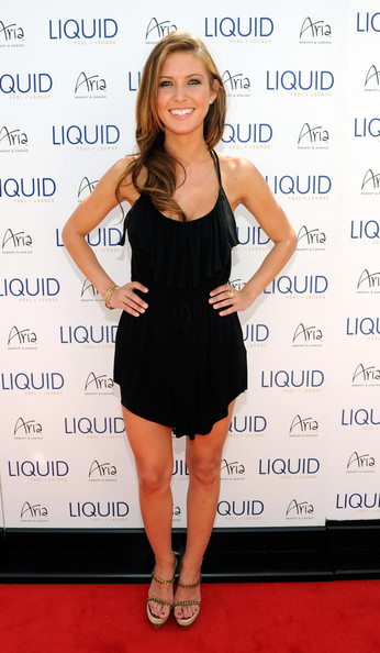 Audrina Patridge Television personality Audrina Patridge arrives at the Liquid Pool Lounge at the Aria Resort & Casino at CityCenter to celebrate her 25th birthday May 8, 2010 in Las Vegas, Nevada. Patridge's birthday is on May 9.