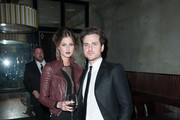 Martha Patterson and Jared Followill attends the 'August: Osage County' premiere after party>> at Monarch on December 12, 2013 in New York City.