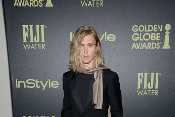 Austin Butler Hollywood Foreign Press Association and InStyle Celebrate the 2016 Golden Globe Award Season