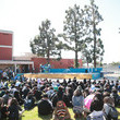 Austin Ekeler Fuel Your Best! Bethune Middle School Pep Rally For Youth Wellness With Los Angeles Charger Austin Ekeler, Sleep Number And GENYOUth