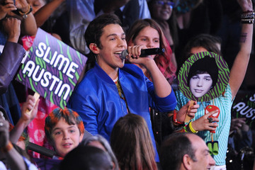 Austin Mahone Nickelodeon's 27th Annual Kids' Choice Awards - Show