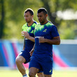 Quade Cooper and Kurtley Beale Photos