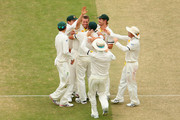 Kevin Pietersen and Peter Siddle Photos Photo