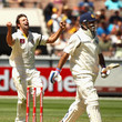 M.S. Dohni Australia v India - First Test: Day 3