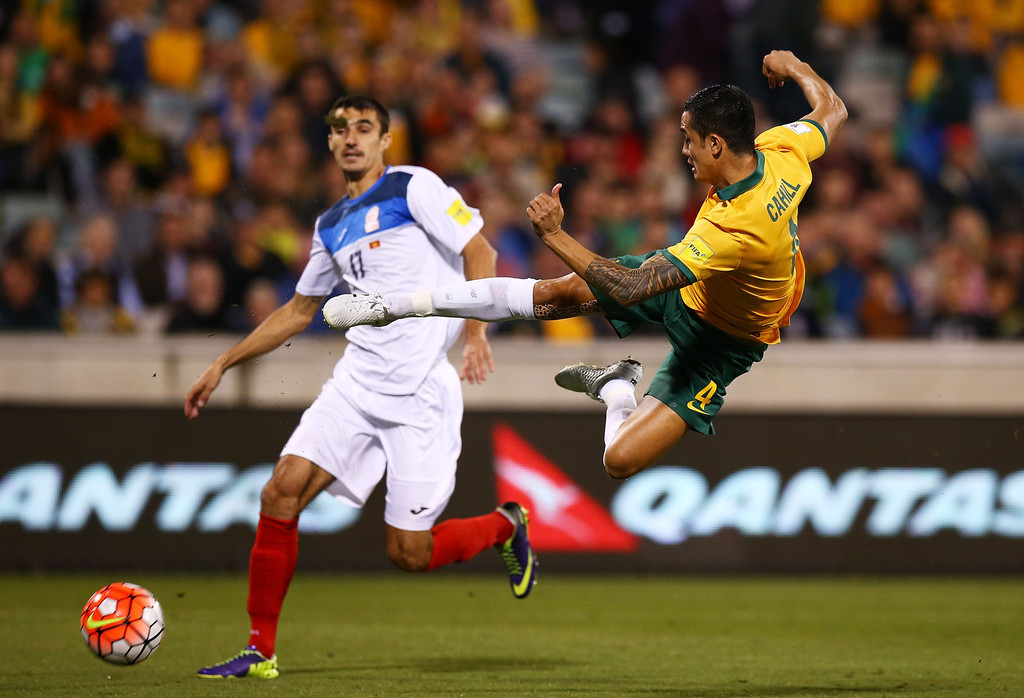 Australia v kyrgyzstan 2018 fifa world cup qualification pictures