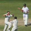 Dale Steyn and Peter Siddle Photos