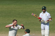 Dale Steyn and Peter Siddle Photos Photo