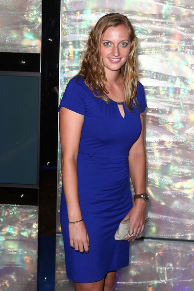 Petra Kvitova arrives at the official Australian Open player party at the Grand Hyatt on January 11, 2013 in Melbourne, Australia.