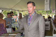 Author/Actor Ed Burns attend Authors Night for the East Hampton Library on August 8, 2015 in East Hampton, New York.
