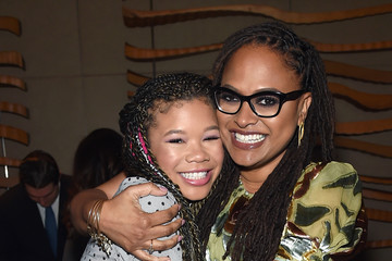 Ava DuVernay Storm Reid PEOPLE Celebrates Disney's 'A Wrinkle In Time' At Per Se In NYC