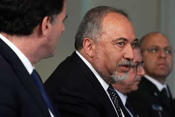 Avigdor Lieberman Secretary Of Defense Mattis Hosts Israeli Defense Minister At The Pentagon