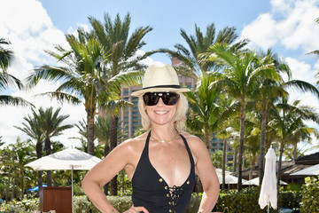 Avril Graham Poolside With Drew Barrymore and Brooke Shields to Celebrate the Opening of Sip Sip at The NEW Cove Resort on Paradise Island, The Bahamas