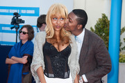 Tashiana Washington and Ty Hickson arrive at the closing cermony of the 38th Deauville American Film Festival on September 8, 2012 in Deauville, France.
