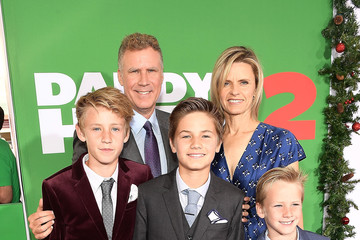 Axel Paulin Ferrell Premiere of Paramount Pictures' 'Daddy's Home 2' - Red Carpet