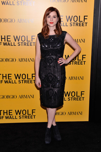 Aya Cash Picture 7 - US Premiere of The Wolf of Wall