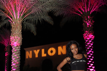 Azealia Banks NYLON Midnight Garden Party