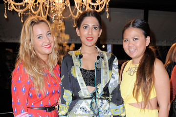 Azeeza Khan Bisazza Wears Emilio Pucci Cocktail Reception