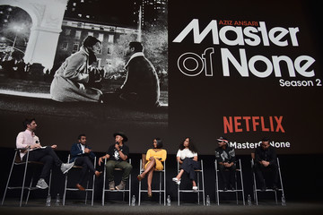 Aziz Ansari Netflix's 'Master Of None' for Your Consideration Event - Panel