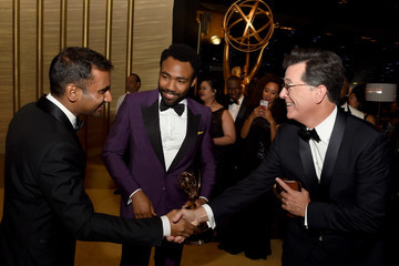 Aziz Ansari 69th Annual Primetime Emmy Awards - Governors Ball
