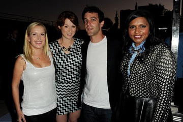 """B.J. Novak The Hollywood Reporter Celebrates Mindy Kaling And Her New Project """"The Mindy Project"""""""