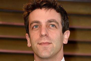 B.J. Novak Stars at the Vanity Fair Oscar Party