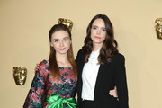 Jessica Barden and Stacy Martin attend the BAFTA Breakthrough Brits reception at BAFTA on November 7, 2018 in London, England.