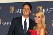 Vernon Kay (L) and Tess Daly attend the BAFTA Film Gala at the The Savoy Hotel, ahead of the EE British Academy Film Awards this Sunday, on February 08, 2019 in London, England.