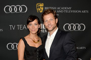 Actors Kerry Norton (L) and Jamie Bamber  attend the BAFTA LA TV Tea 2013 presented by BBC America and Audi held at the SLS Hotel on September 21, 2013 in Beverly Hills, California.